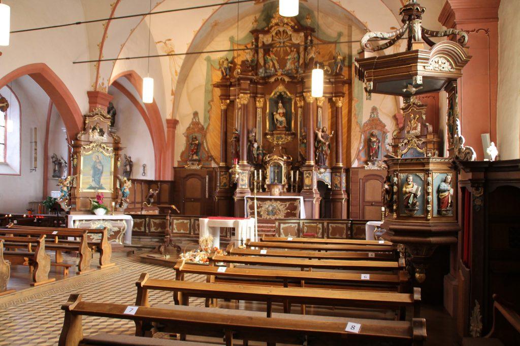 Hochaltar Wallfahrtskirche Sankt Marien